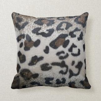 Leopard skin pattern pillow