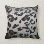 Leopard skin pattern pillows