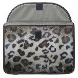 Leopard skin pattern sleeve for MacBook pro