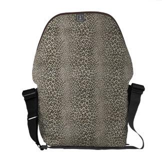 Leopard Skin Print Exotic Animal Messenger Bags