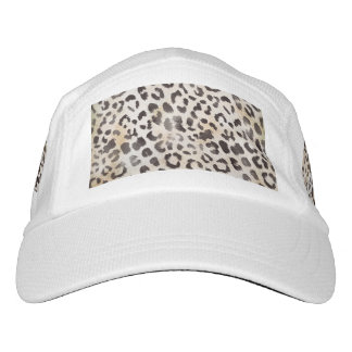 Leopard Skin Print  in Natural Ivory Headsweats Hat