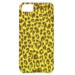 Leopard skin print iPhone 5C cases