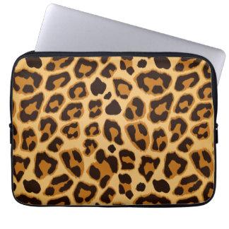 Leopard Skin Print Pattern Laptop Computer Sleeves