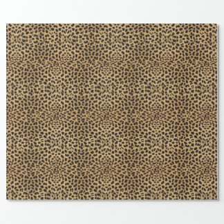 Leopard Skin Print Wrapping Paper