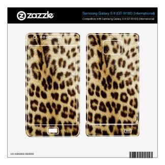Leopard Skin Samsung all phone models Samsung Galaxy S II Skins