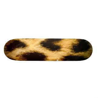 Leopard Skin Skate Boards