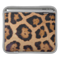 Leopard skin sleeve for iPads