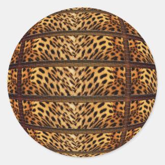 Leopard skin stickers