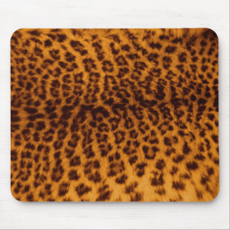 Leopard skin texture mouse pad