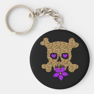 Leopard Skin Valentine Keychain
