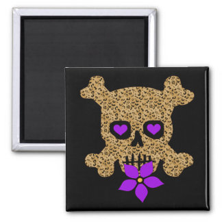 Leopard Skin Valentine Magnet
