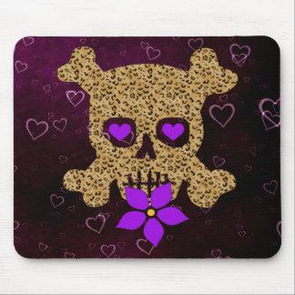 Leopard Skin Valentine Mousepads