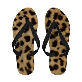 Leopard Skin Women's Sandals