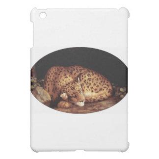 Leopard Sleeping Artwork Cover For The iPad Mini