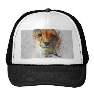 Leopard Splash in Water Color Trucker Hat