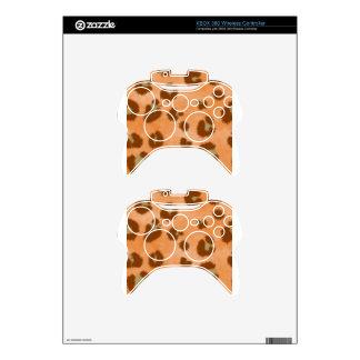 leopard spot pattern xbox 360 controller skins