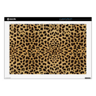 Leopard Spot Skin Print Decal For Laptop