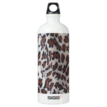Halloween Themed Leopard Spots Aluminum Water Bottle