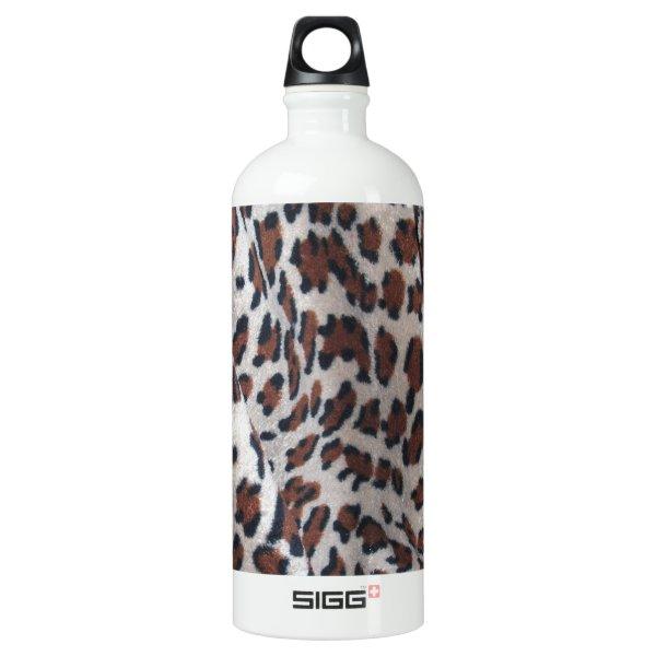 Leopard Spots Aluminum Water Bottle
