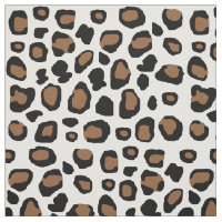 Leopard Spots Animal Print Fabric