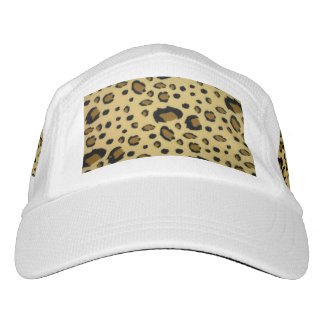 Leopard Spots Brushed Fur Texture Look Hat