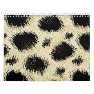 Leopard spots calendar