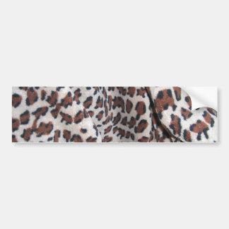 Leopard Spots Car Bumper Sticker