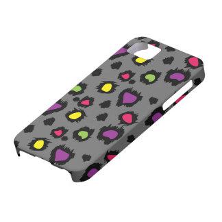 Leopard Spots in Technicolor iPhone SE/5/5s Case
