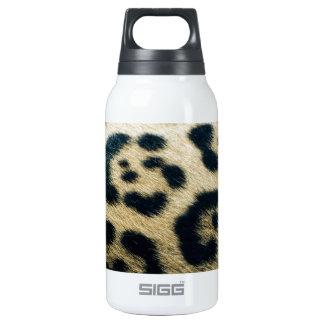 Leopard spots insulated water bottle