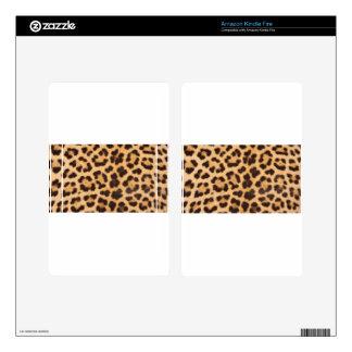 Leopard Spots Kindle Fire Decal