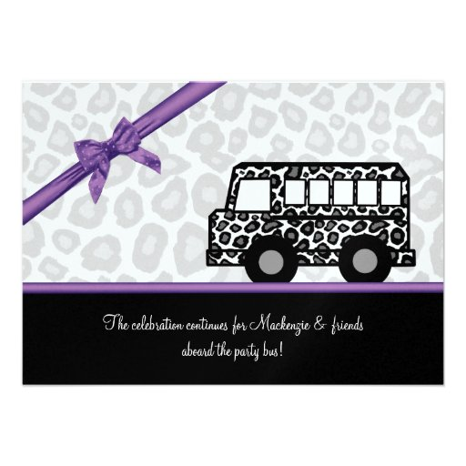 Party Bus Invitations could be nice ideas for your invitation template