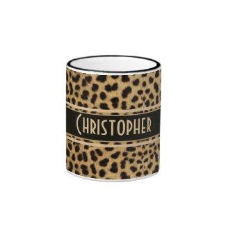 Leopard Spots Pattern Mugs