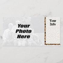 Leopard Spots Photo Cards