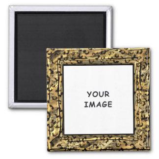 Leopard Spots Photo Frame Magnet