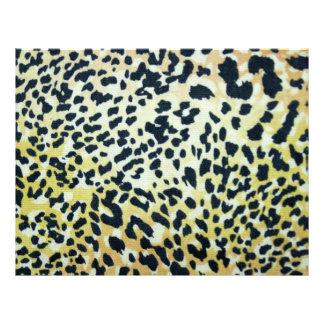 Leopard Spots Scrapbooking Paper