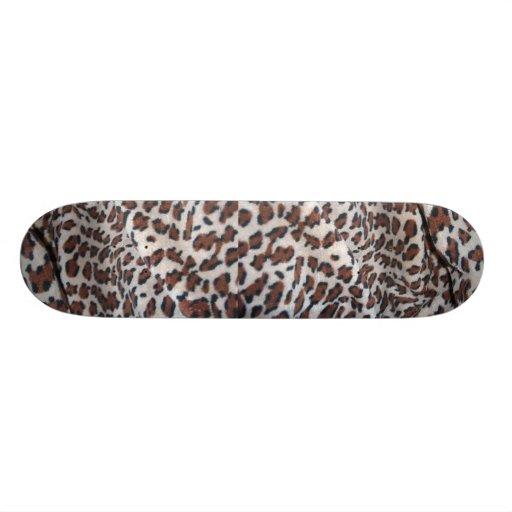 Leopard Spots Skate Board Deck