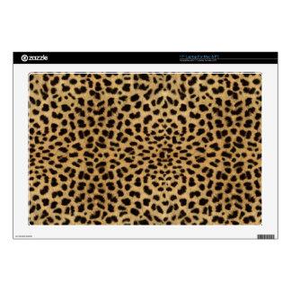 "Leopard Spots 17"" Laptop Skins"