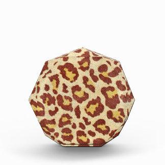 Leopard Spots Ultrasuede Look Award