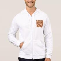 Leopard Spots Ultrasuede Look Hoodie