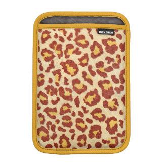 Leopard Spots Ultrasuede Look iPad Mini Sleeve