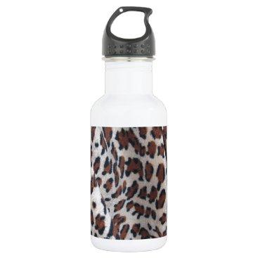 Halloween Themed Leopard Spots Water Bottle