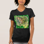 Leopard St. Patrick's Day Clothing T-shirts