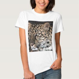 Leopard stare t shirt