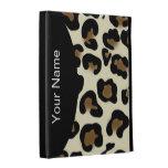 Leopard Style Monogram iPad Case