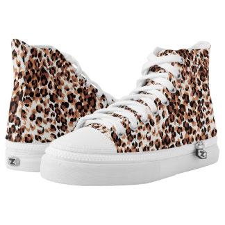 Leopard Style Printed Shoes