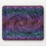 Leopard Swirl Mouse Pad
