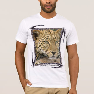 Leopard T-Shirt with Leopard Tail Frame