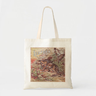 Leopard Tobacco 1900 - distressed Tote Bags