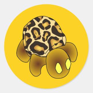 Leopard Turtle Sticker