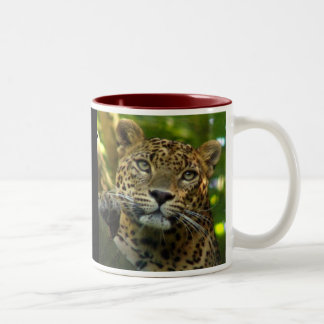 Leopard  Two-Tone coffee mug